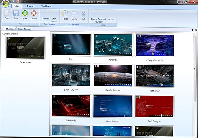 Sesuaikan & Buat Tema Windows Media Center