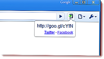 goo.gl Google URL Shortener for Chrome-selain