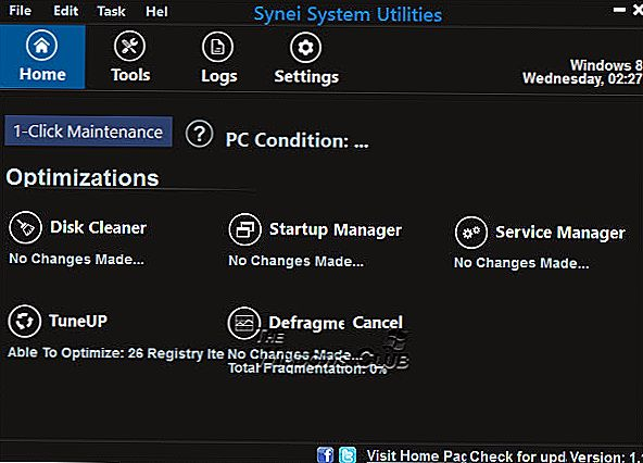 Synei System Utilities: Gratis optimalisering suite for Windows