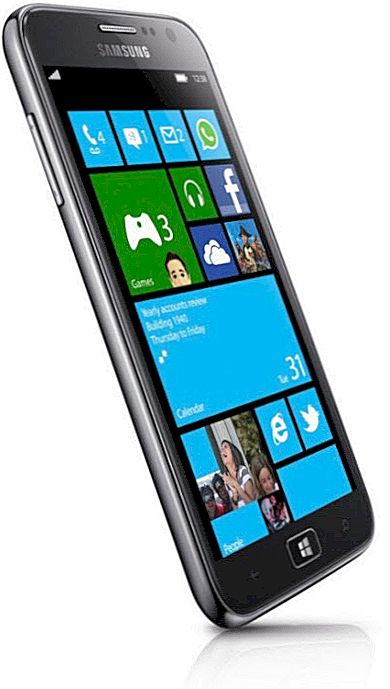 Samsung ATIV S Windows Phone 8 seade teatas - Blogi