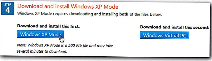 Jalankan XP Mode di Windows 7 Mesin Tanpa Hardware Virtualisasi - Howto