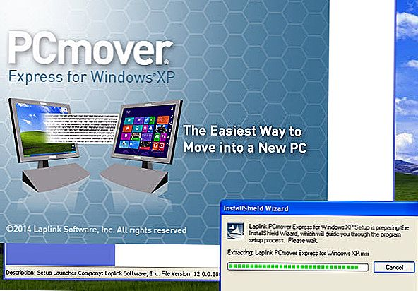 PCmover Express pour Windows 10 / XP Review et captures d'écran